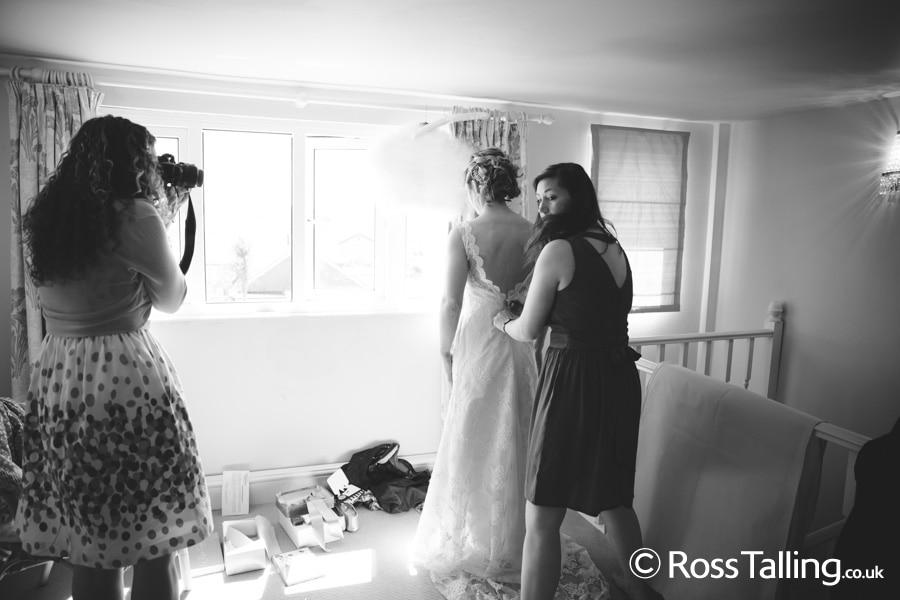 Wedding Photography, Crantock Church, Trerice, Cornwall,Ross Talling
