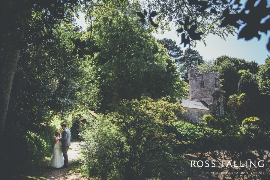 St Just in Roseland Trelissick Wedding Photography Cornwall-105