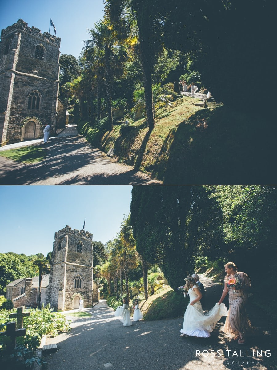 St Just in Roseland Trelissick Wedding Photography Cornwall-68