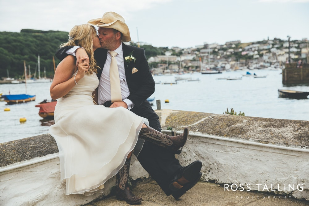 Fowey Wedding Photography :: Becky & Brian