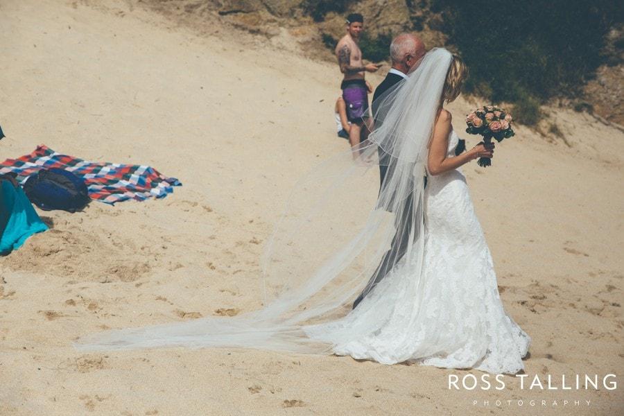 Minack Porthcurno Beach Wedding Photography_0038