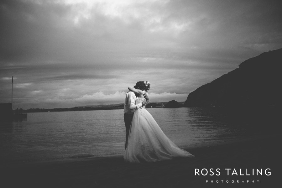 Wedding Photography Cornwall Polkerris Beach by Ross Talling Hollie & George_0104