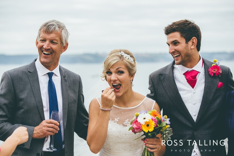 Wedding Photography Cornwall Polkerris Beach by Ross Talling Hollie & George_0077