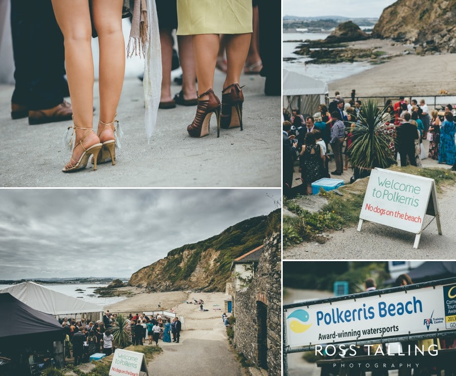 Wedding Photography Cornwall Polkerris Beach by Ross Talling Hollie & George_0071