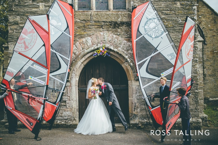 Wedding Photography Cornwall Polkerris Beach by Ross Talling Hollie & George_0060