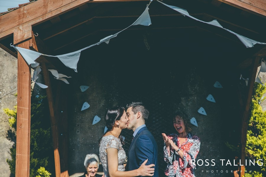 Elopement Wedding Cornwall Boho House - Wedding Photography by Ross Talling_0017