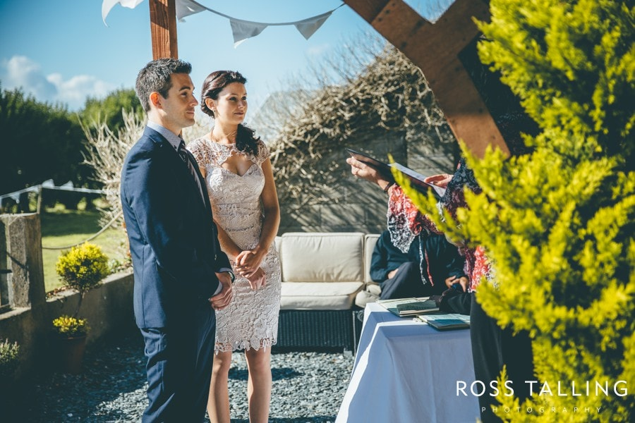 Elopement Wedding Cornwall Boho House - Wedding Photography by Ross Talling_0010
