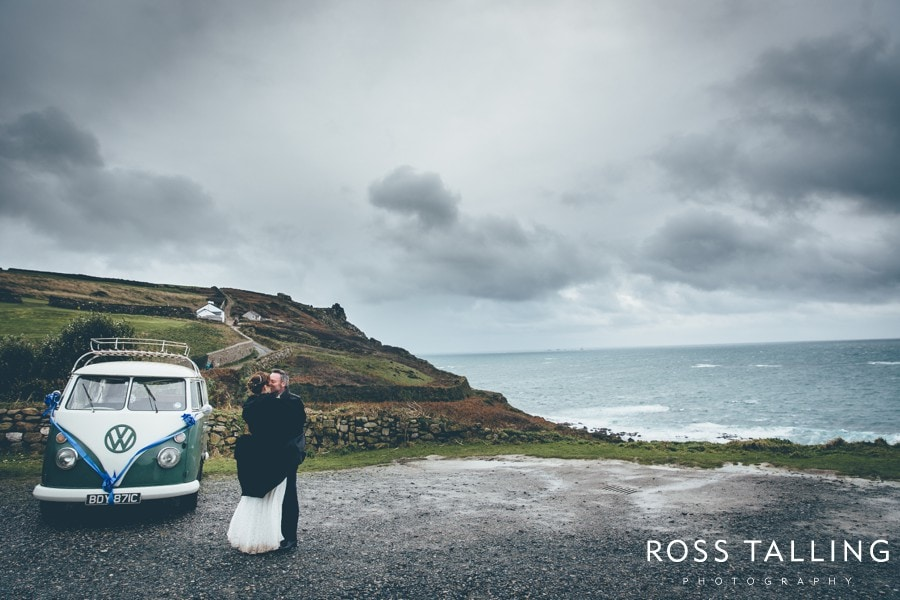 Cornwall Wedding Photography Boho Elopement Wedding - Nicola & Stephen_0044