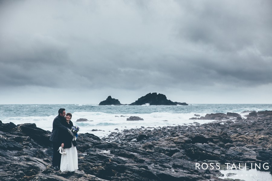 Cornwall Wedding Photography Boho Elopement Wedding - Nicola & Stephen_0042