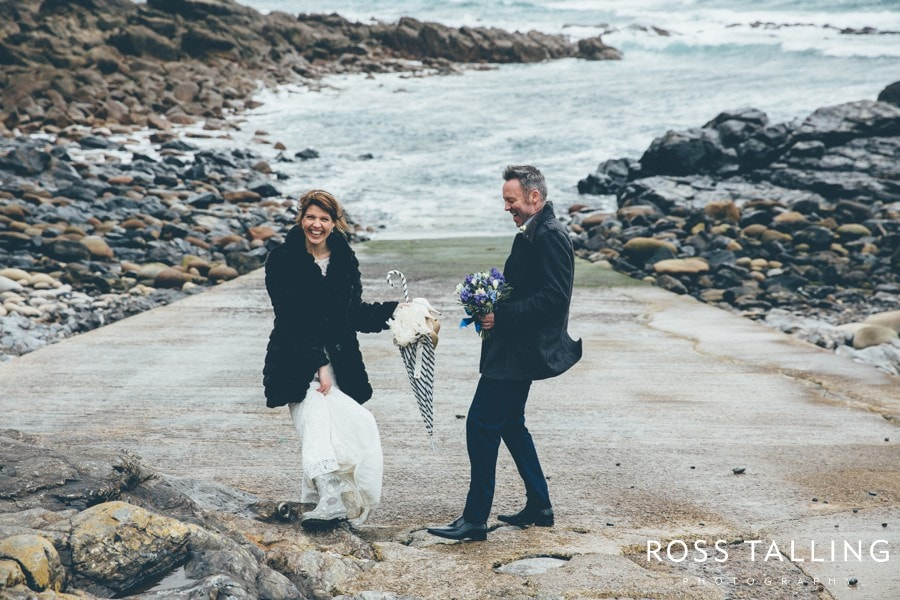 Cornwall Wedding Photography Boho Elopement Wedding - Nicola & Stephen_0041