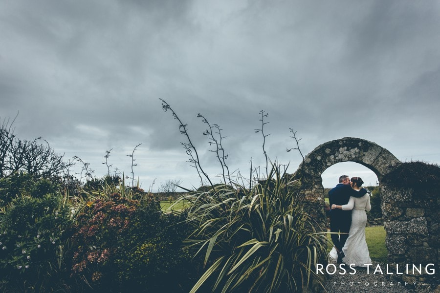 Cornwall Wedding Photography Boho Elopement Wedding - Nicola & Stephen_0034