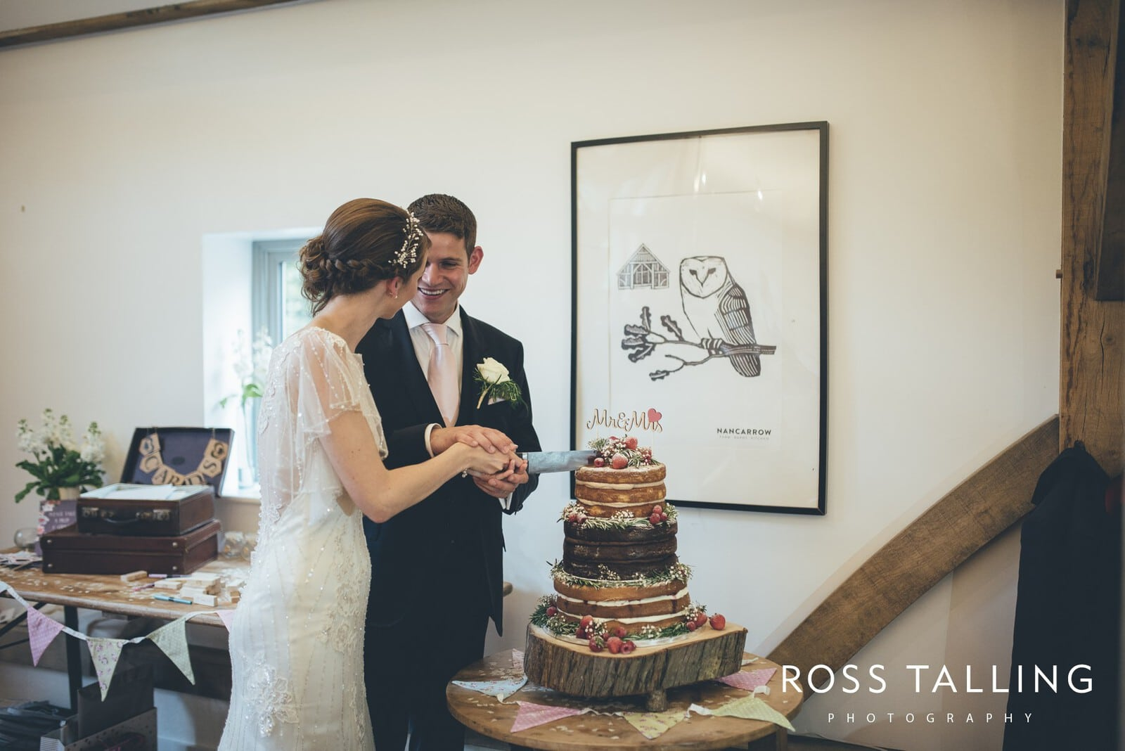 Wedding Photography Cornwall - Nancarrow Farm - Jess & Dave_0092