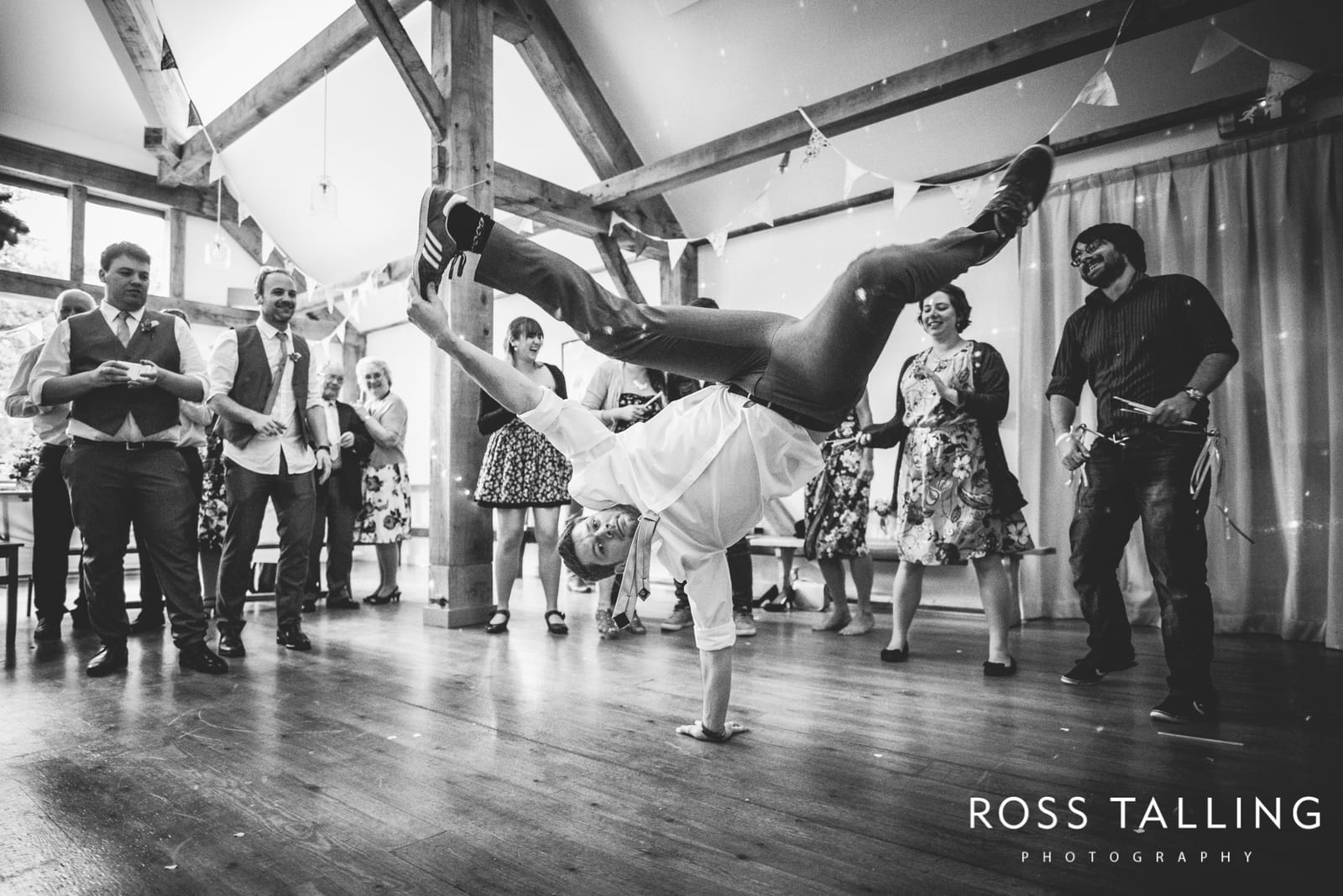 The Coolest First Dance Ever – Breakdancing Bride & Groom :: Jasmine and Ben Barnicoat