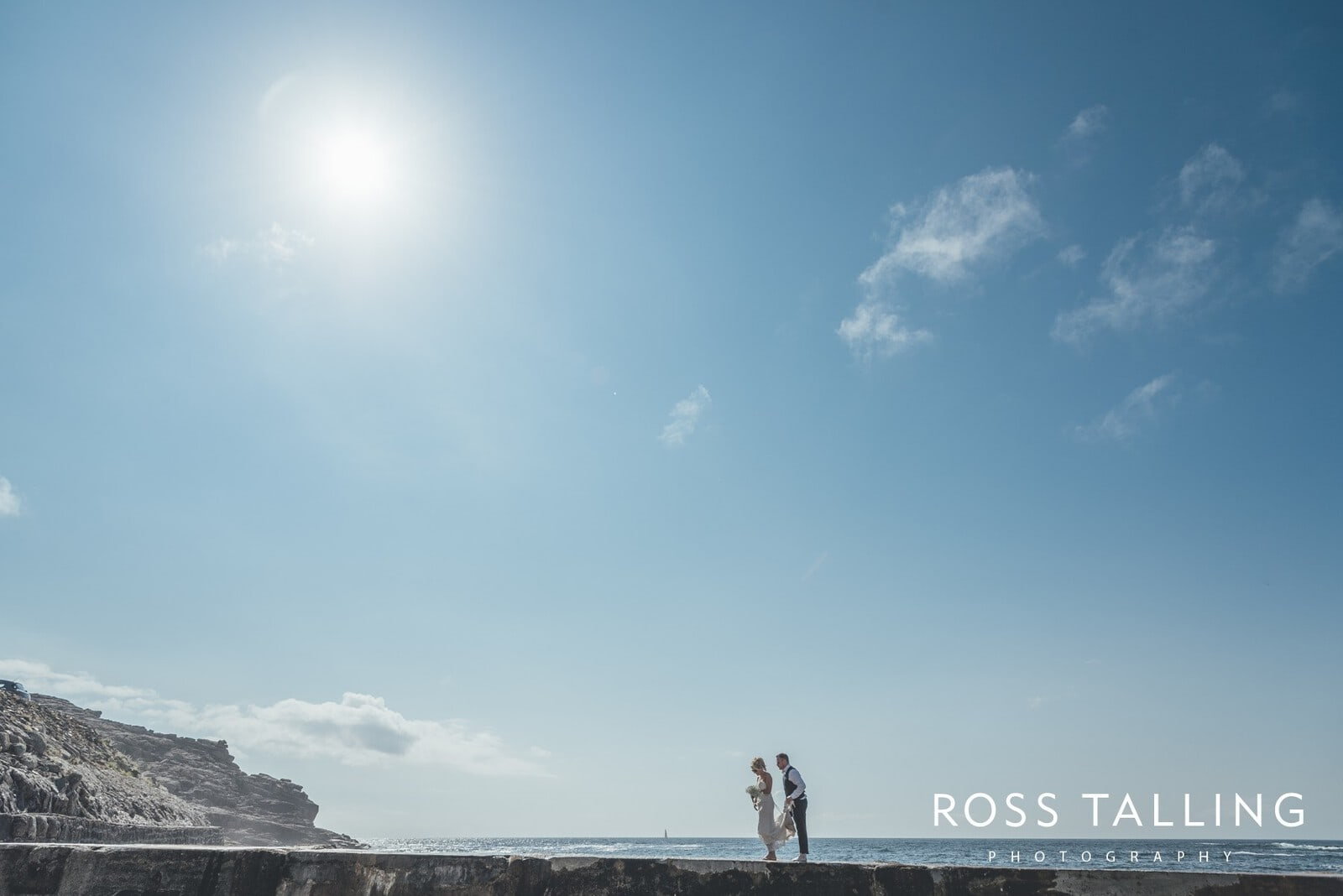 Boho Elopement Wedding Photography Cornwall - Stacey and Steve_0087