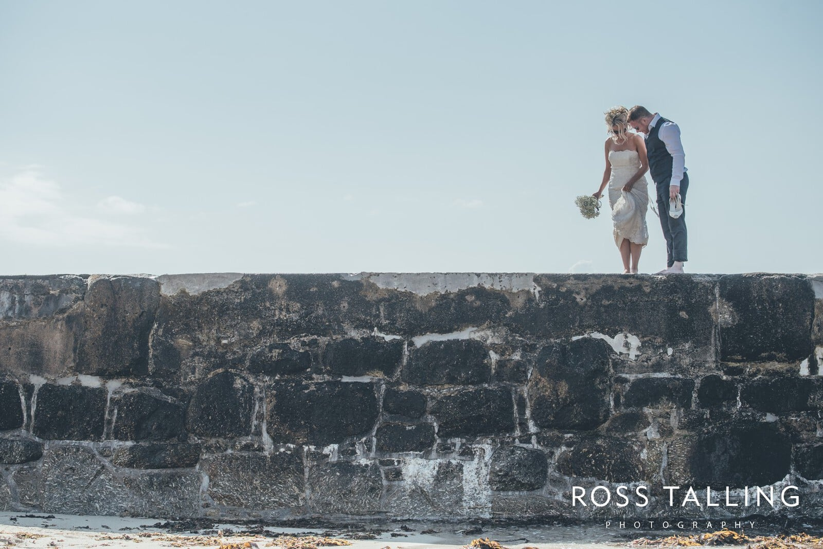 Boho Elopement Wedding Photography Cornwall - Stacey and Steve_0086