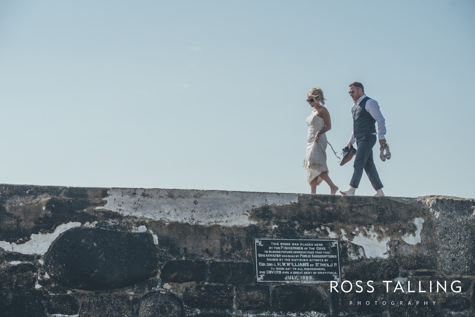 Boho Elopement Wedding Photography Cornwall - Stacey and Steve_0084