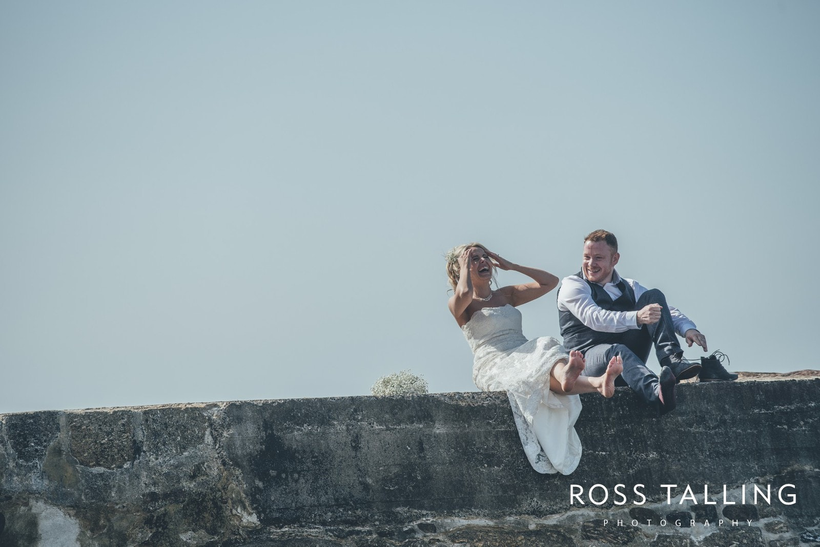 Boho Elopement Wedding Photography Cornwall - Stacey and Steve_0081