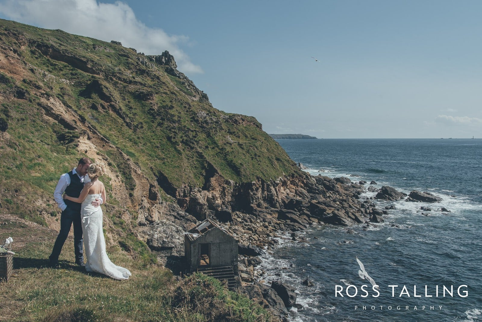 Boho Elopement Wedding Photography Cornwall - Stacey and Steve_0072