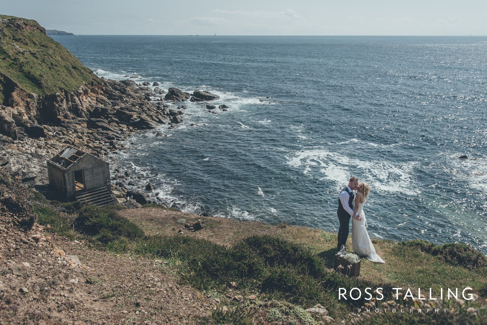 Boho Elopement Wedding Photography Cornwall - Stacey and Steve_0069