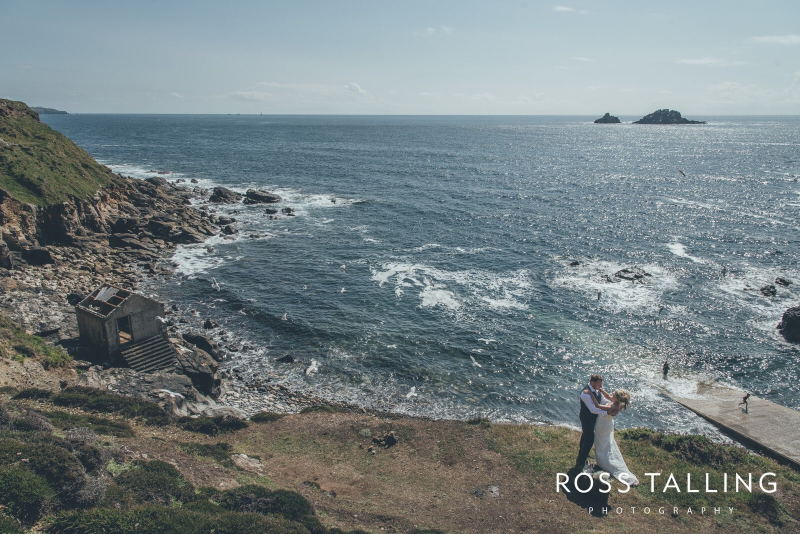 Boho Elopement Wedding Photography Cornwall - Stacey and Steve_0068