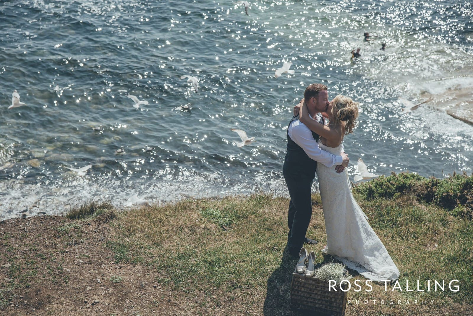 Boho Elopement Wedding Photography Cornwall - Stacey and Steve_0067