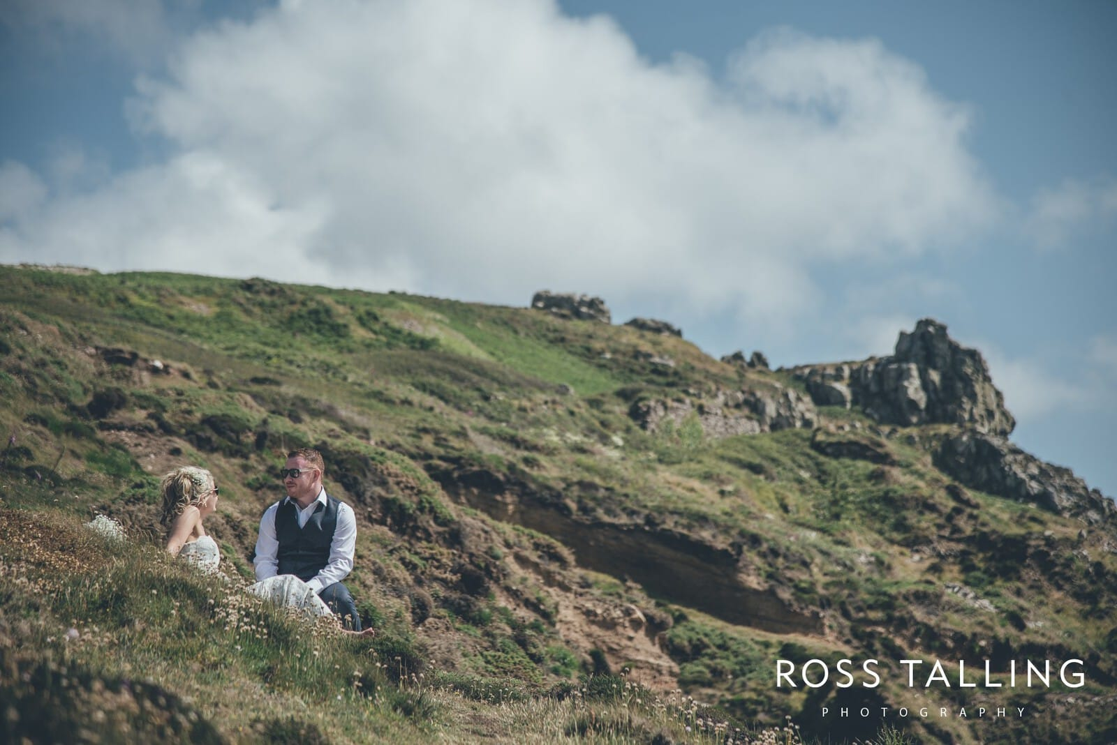Boho Elopement Wedding Photography Cornwall - Stacey and Steve_0065