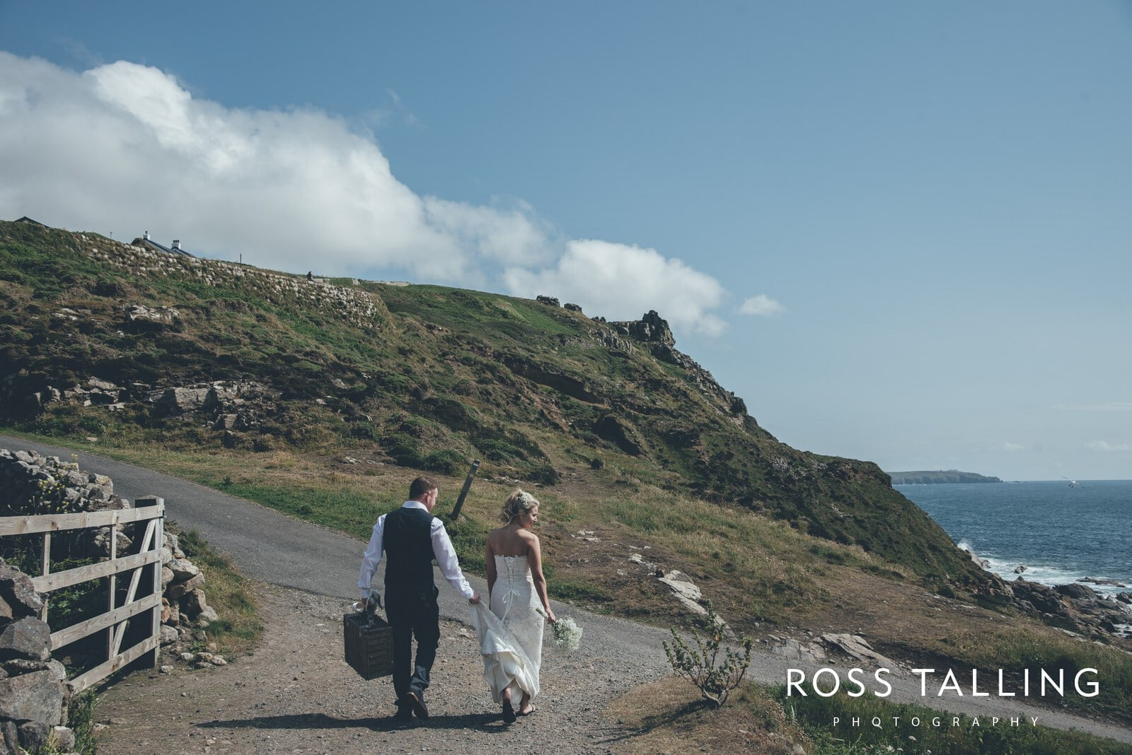 Boho Elopement Wedding Photography Cornwall - Stacey and Steve_0064