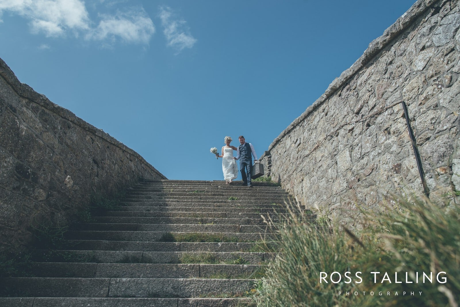 Boho Elopement Wedding Photography Cornwall - Stacey and Steve_0063