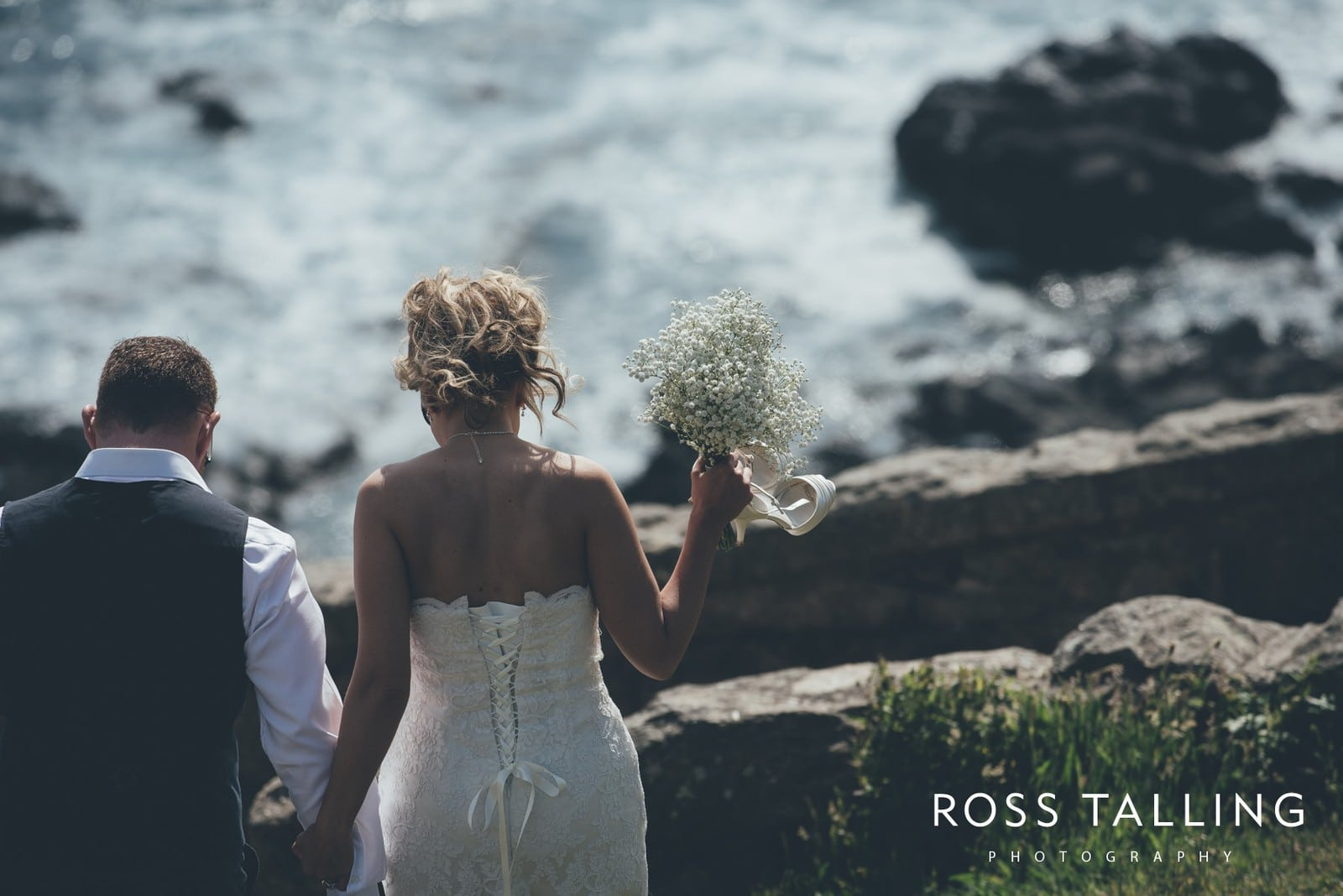 Boho Elopement Wedding Photography Cornwall - Stacey and Steve_0062