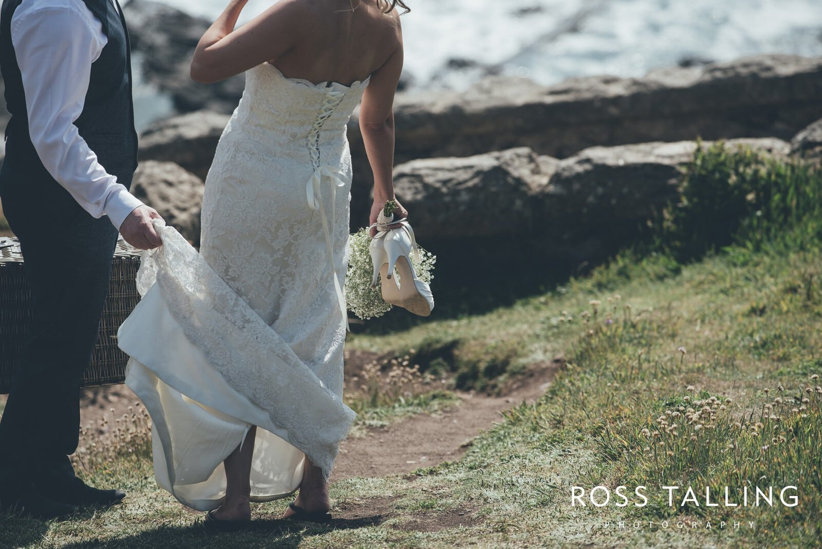 Boho Elopement Wedding Photography Cornwall - Stacey and Steve_0061