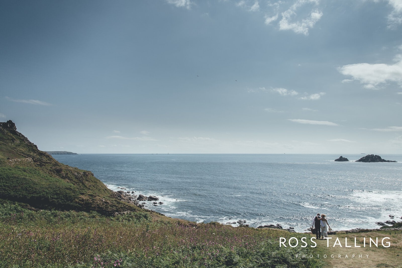 Boho Elopement Wedding Photography Cornwall - Stacey and Steve_0058