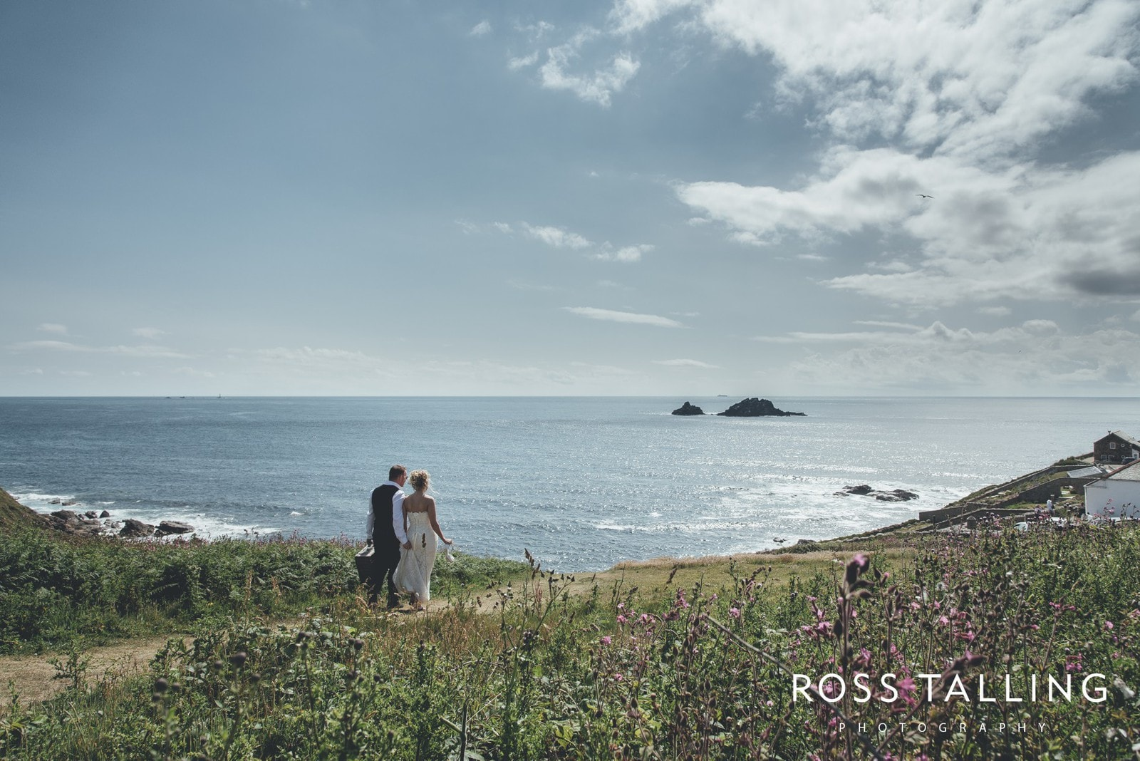 Boho Elopement Wedding Photography Cornwall - Stacey and Steve_0056