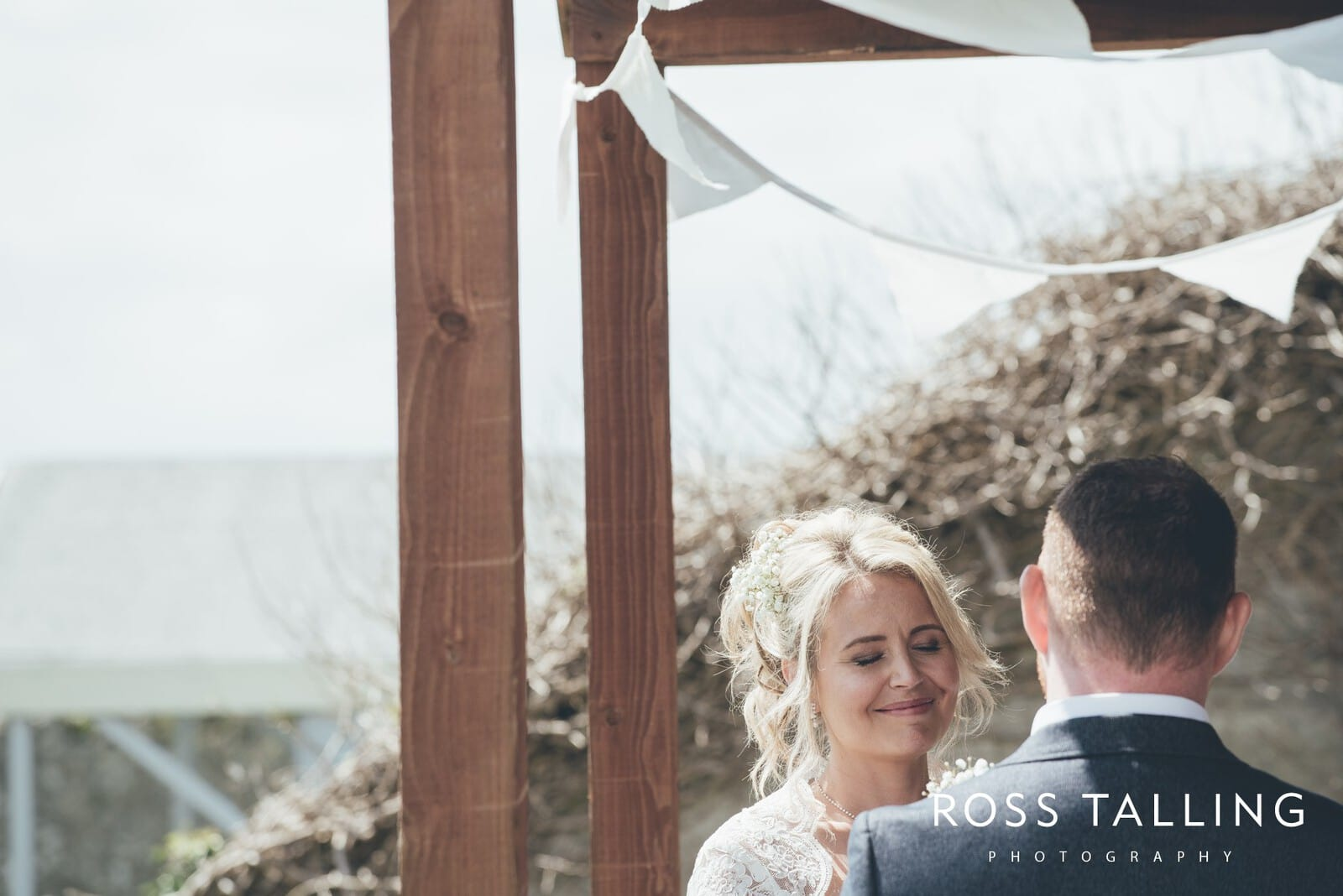 Boho Elopement Wedding Photography Cornwall - Stacey and Steve_0024