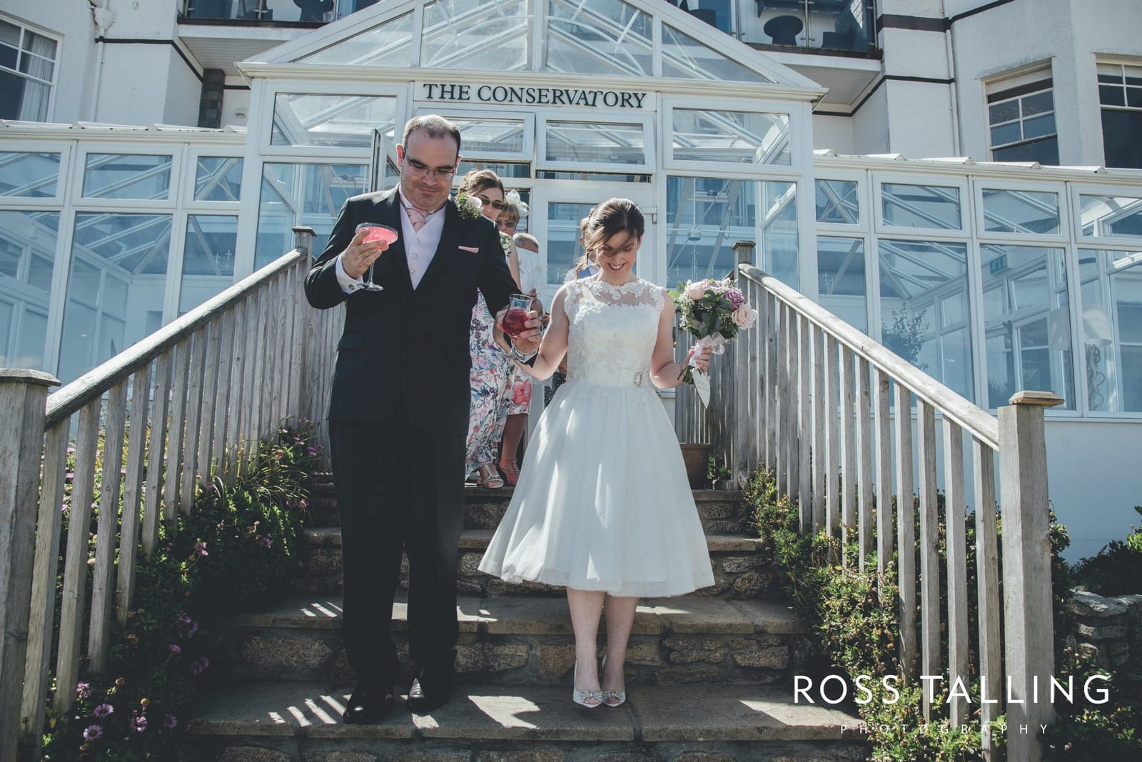 Carbis Bay Hotel Wedding Photography Cornwall Kevin & Rachel_0046