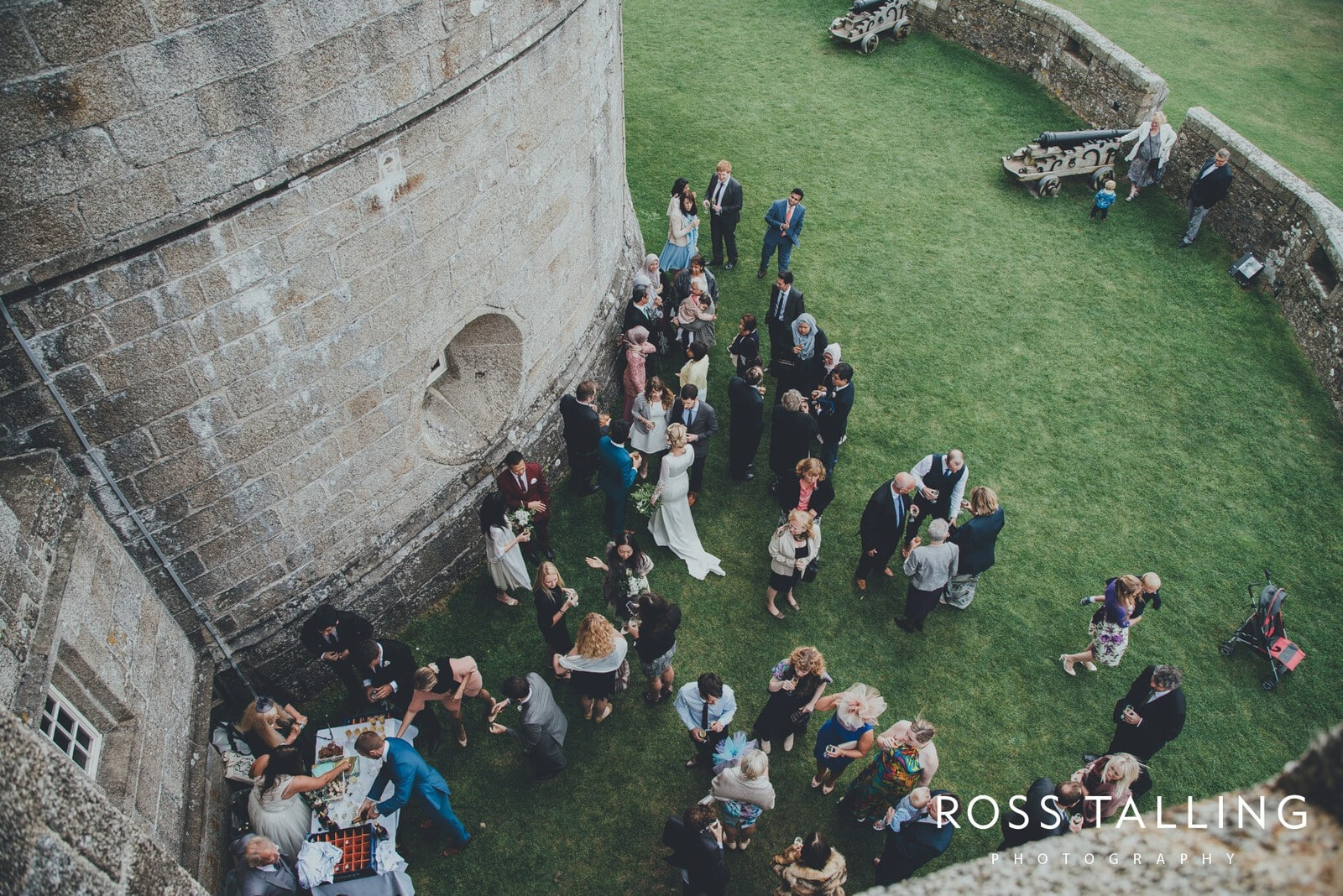 Pendennis Castle Wedding Photography_0055