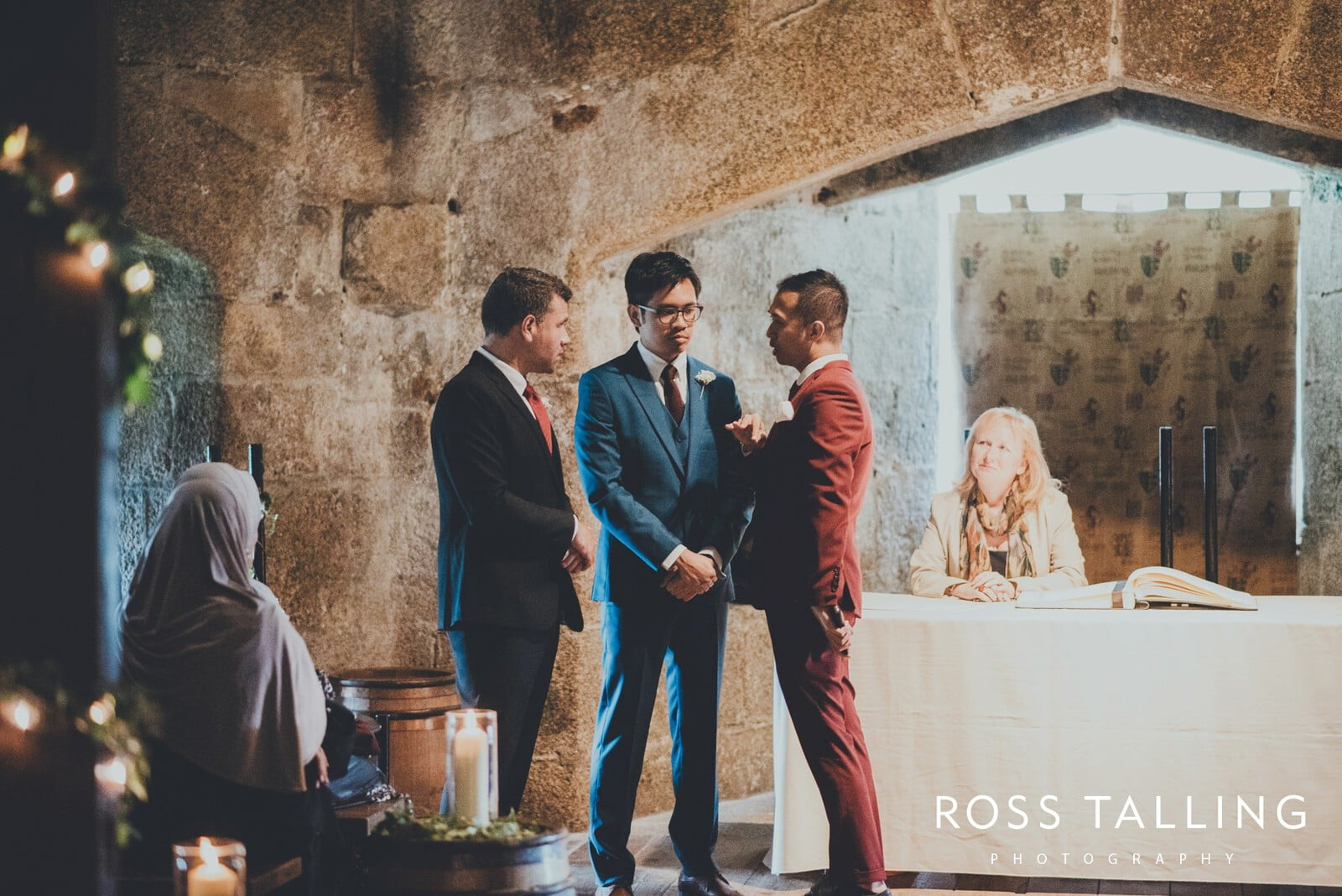 Pendennis Castle Wedding Photography_0025