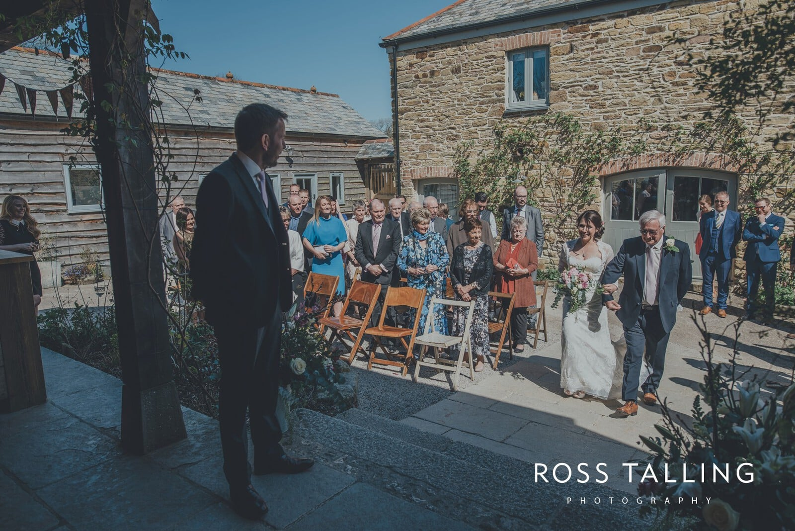 Claire & Rich's Wedding Photography Cornwall_0034