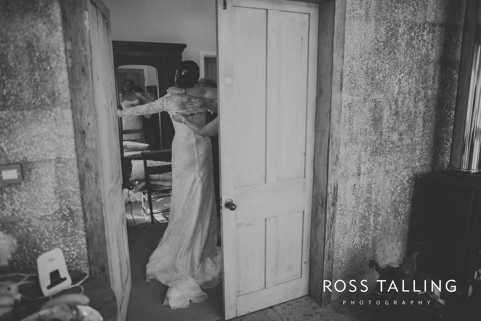 Claire & Rich's Wedding Photography Cornwall_0025