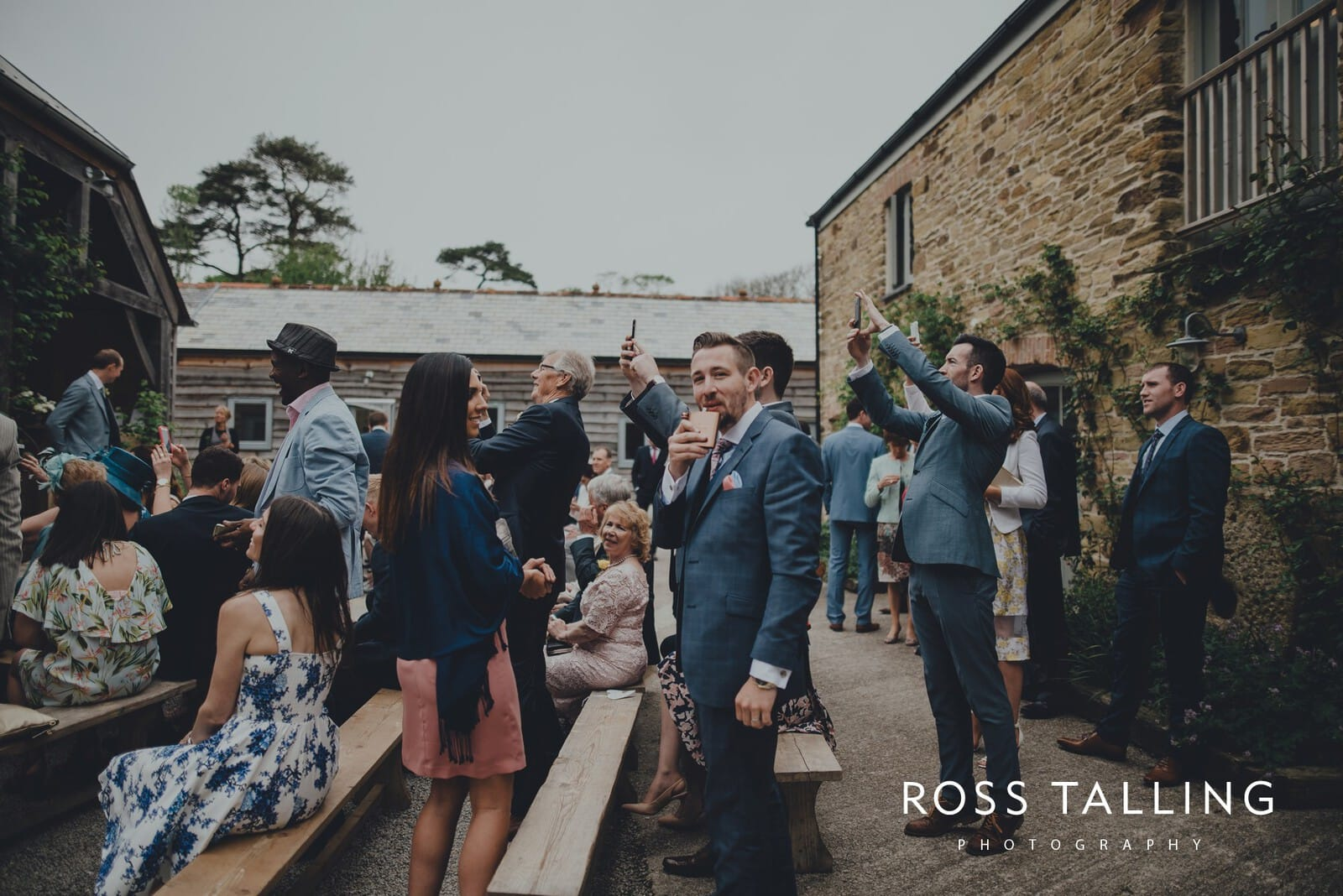 Melanie & Sean's Nancarrow Farm Wedding Photography Cornwall_0053