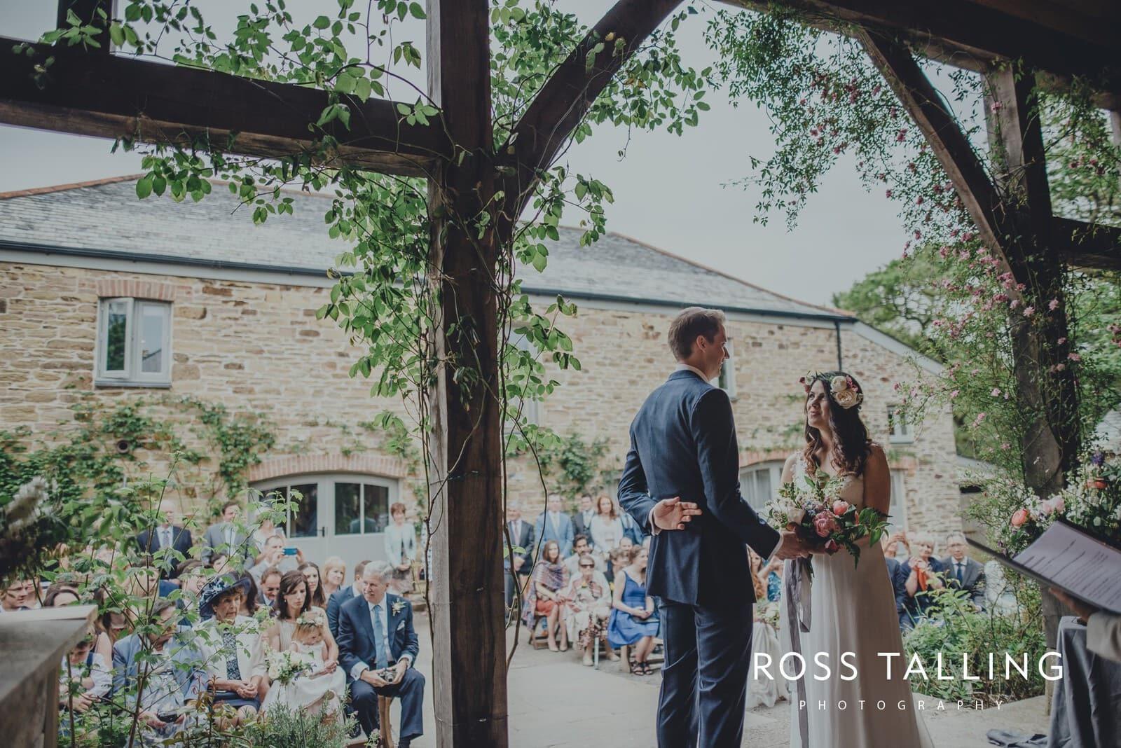 Melanie & Sean's Nancarrow Farm Wedding Photography Cornwall_0042