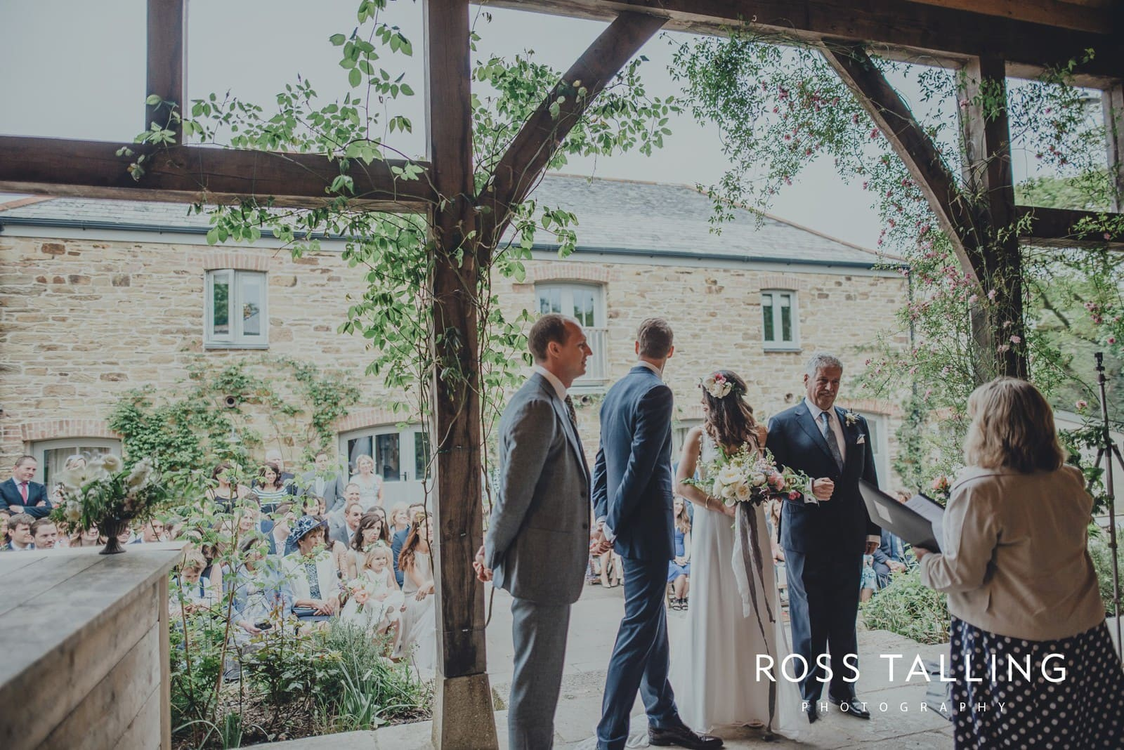 Melanie & Sean's Nancarrow Farm Wedding Photography Cornwall_0035