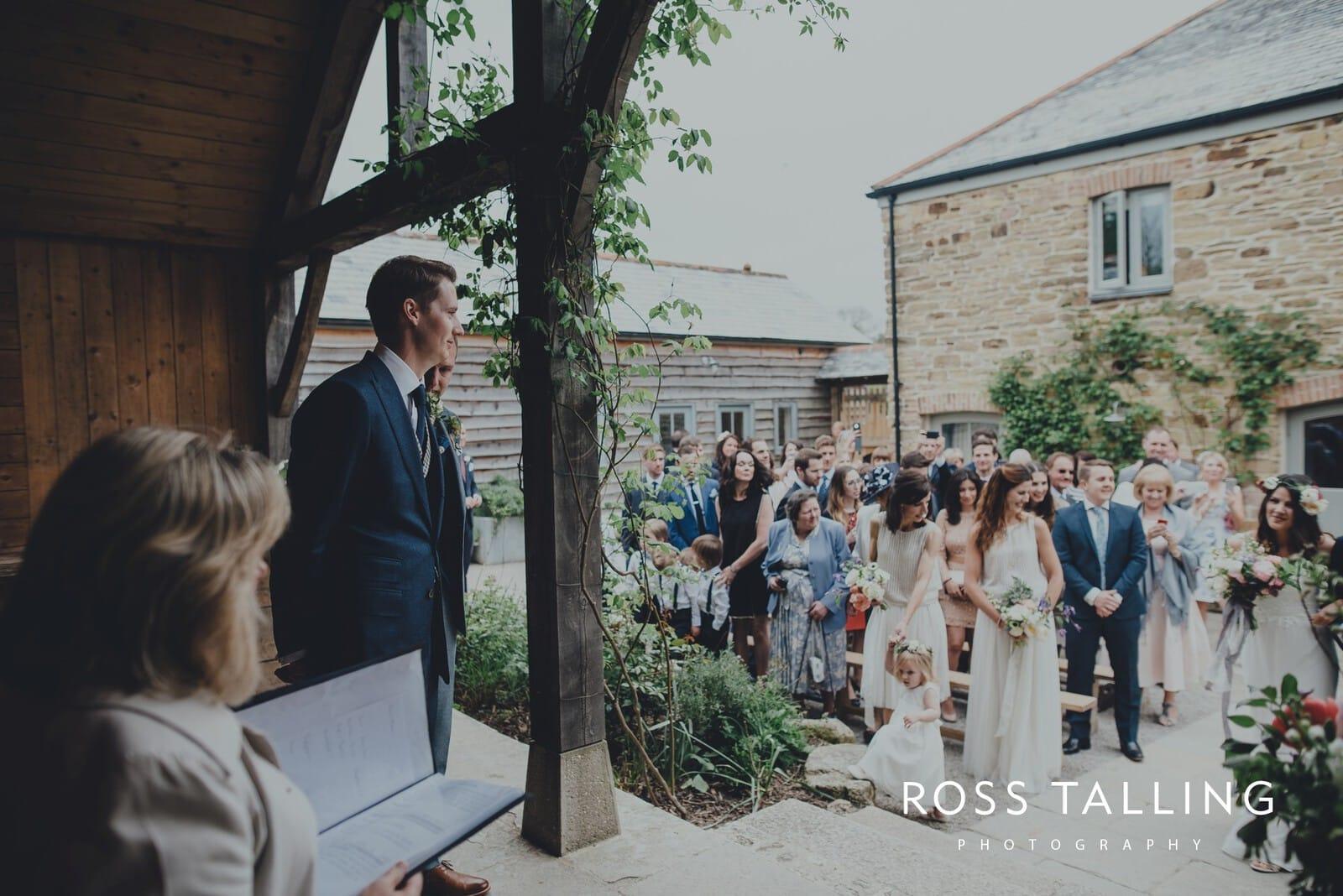 Melanie & Sean's Nancarrow Farm Wedding Photography Cornwall_0029