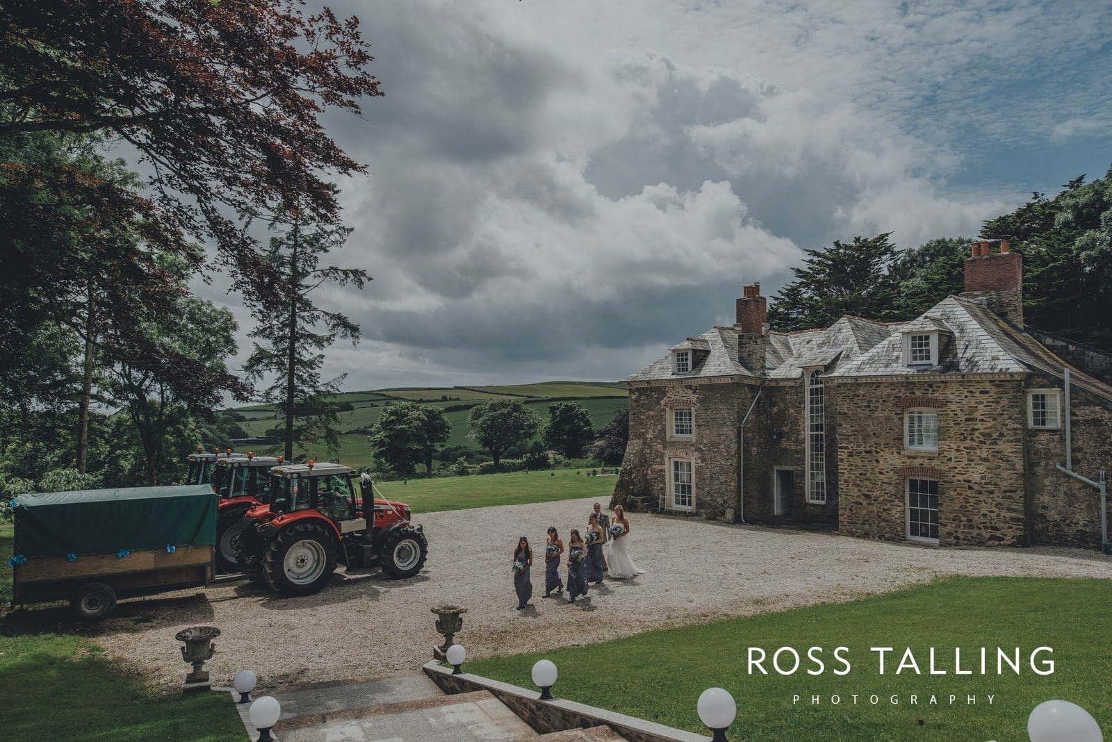 Tredudwell Manor Wedding Photography Cornwall_0042