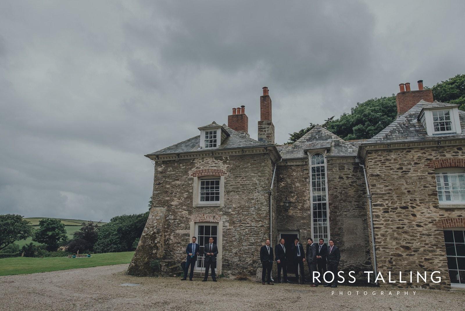Tredudwell Manor Wedding Photography Cornwall_0024