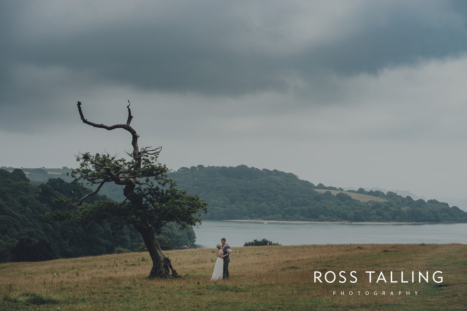 Fran & Nick's Trelissick Gardens Wedding Photography