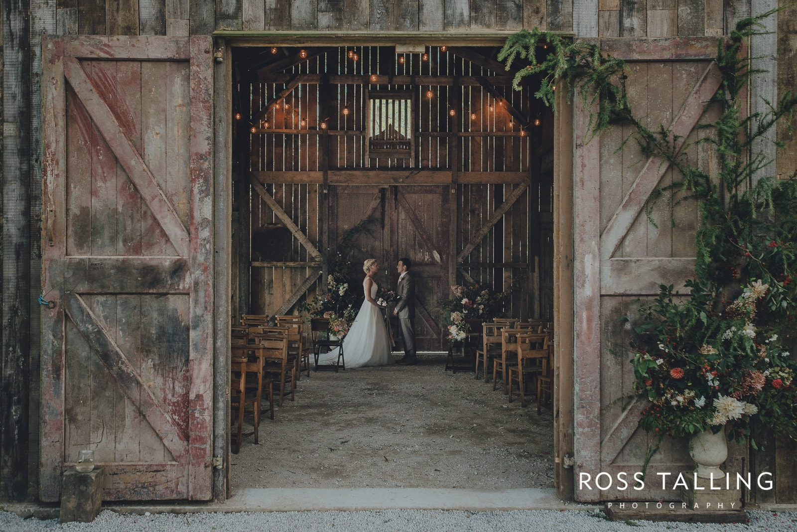 Nancarrow Farm's Rusty Barn Wedding Venue