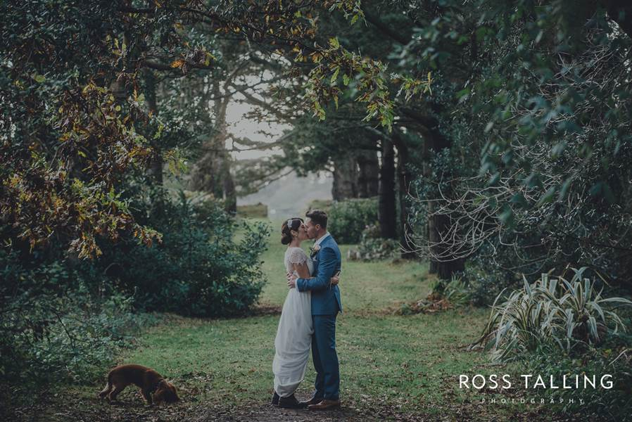 Louise & Phil's Fowey Hall Wedding Photography Tasters