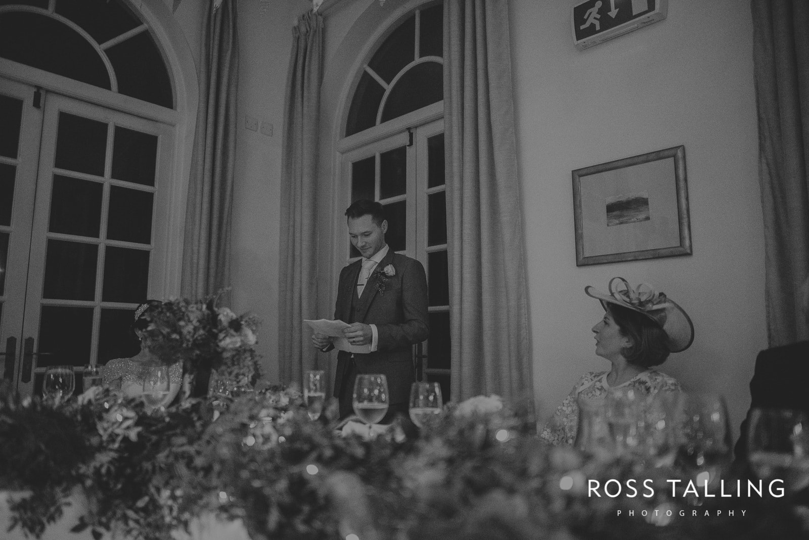 Fowey Hall Wedding Photography Cornwall-189