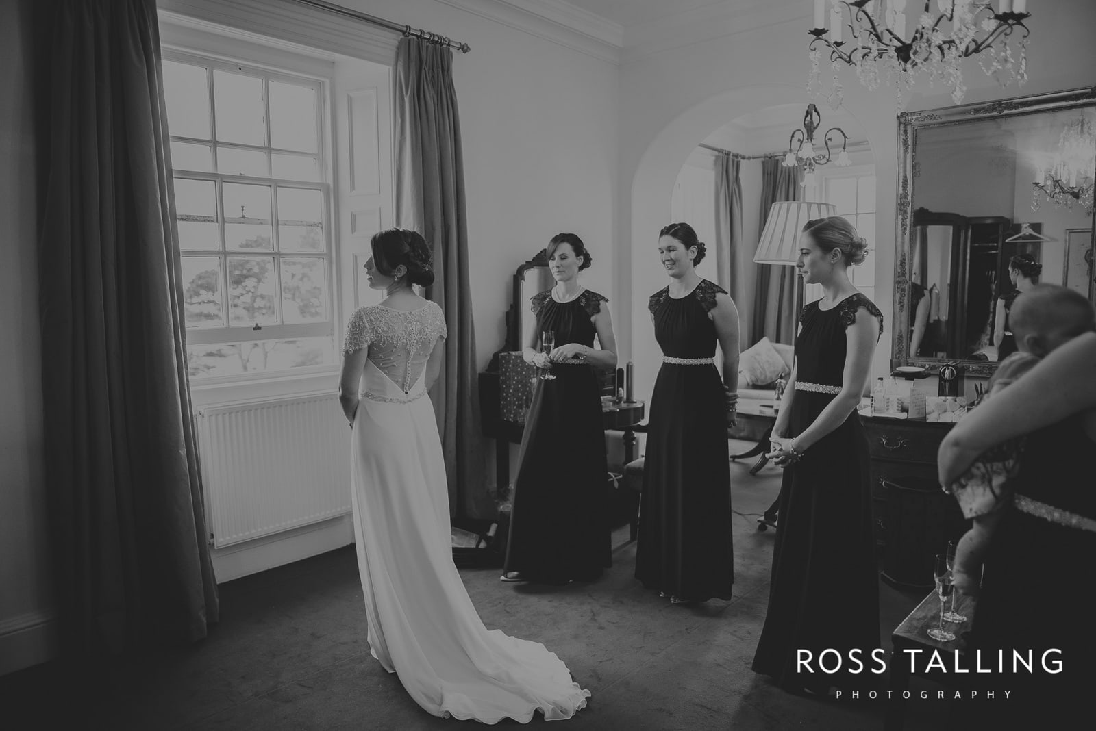 Fowey Hall Wedding Photography Cornwall-31