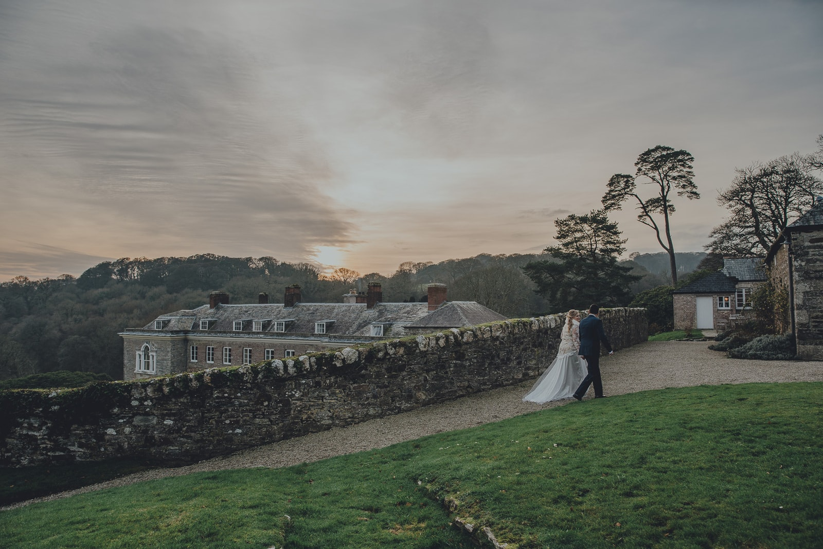 Sarah & David's Boconnoc House Estate Wedding Photography